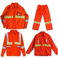 Sanitation, working, road maintenance, engineering, construction site safety reflective clothing Reflective overall warning coat