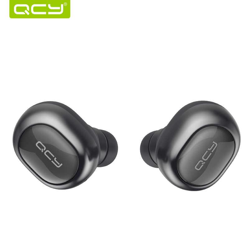 Auriculares QCY Q29 de negocios auriculares bluetooth auriculares inalámbricos 3d con micrófono llamadas manos libres Cancelación de ruido