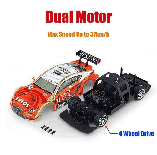 RC Car  4WD Drift Racing Car Championship 2.4G Off Road Rockstar Radio Remote Control Vehicle Electronic Hobby Toys 5