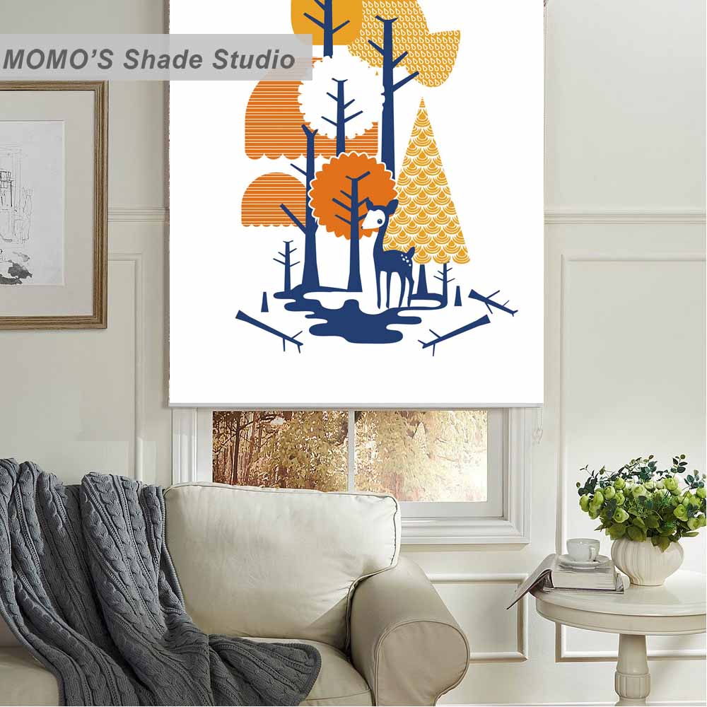 MOMO Roller Blinds Blackout Design Window Blinds Painting Curtains Roller Shades Thermal Fabric Custom Size,PRB set17-20MOMO Roller Blinds Blackout Design Window Blinds Painting Curtains Roller Shades Thermal Fabric Custom Size,PRB set17-20