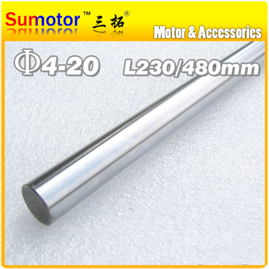 D10 L230 Diameter 10mm Length 230mm 45# Steel shaft Toy axle transmission rod shaft  DIY Chrome Plated axis CNC XYZ диски helo he844 chrome plated r20