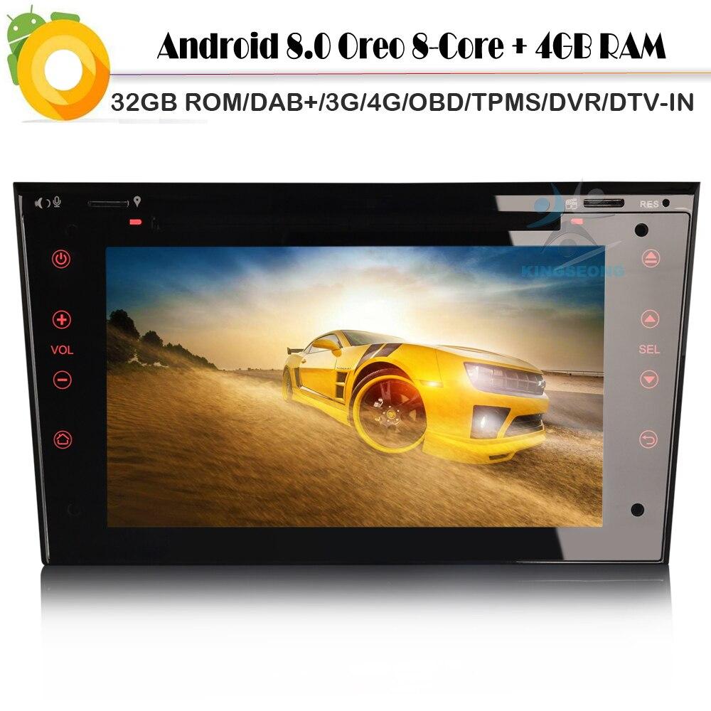 8 Core DAB+ Stereo for Opel Combo Corsa Android 8.0 Autoradio Sat Nav Car CD player WiFi 4G GPS DVD Radio RDS BT USB SD DVR OBD