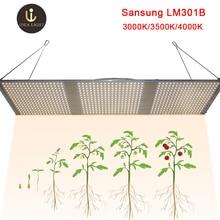 Светодиодный свет для выращивания квантовой платы lm301b 288 шт. чип полный спектр 240 Вт samsung 3000 K 660nm красный Veg/Цветение state Mean Well драйвер