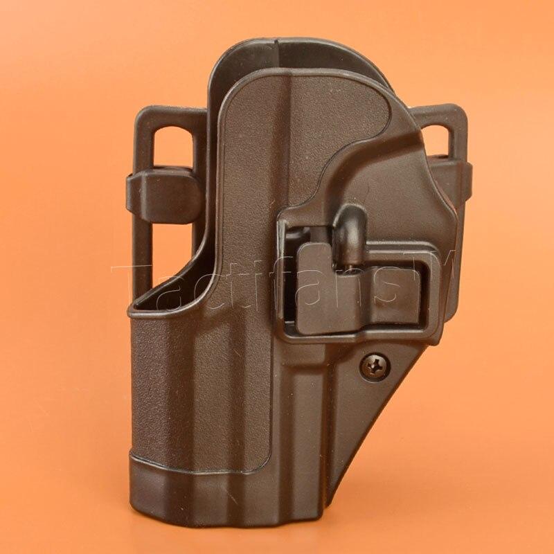 Цена за HK USP CQC Ремень Тактический Кобура Черный Весло Правой Рукой или Левой Рукой Пистолет Кобуры пистолет Для HK Компактный USP