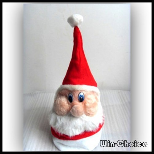 Hot Sales Lovely Santa Claus Hat, Christmas hats, Xmas Gifts ornaments Wholesale 10pcs/lot