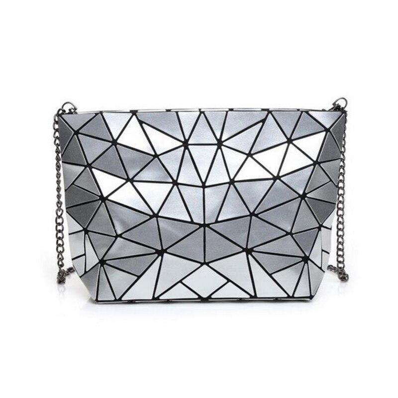 Women Bao Bao Bag New Geometry Laser Handbag Fashion Chain BAOBAO Totes Clutch Shoulder Crossbody Bags For Women bolsos mujer