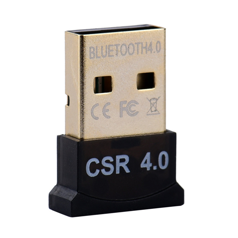 Mini USB Bluetooth Adapter V4.0 CSR Wireless Bluetooth Dongle 4.0 Transmitter For PC Laptop Win XP Vista7/ 8/10 Aug18