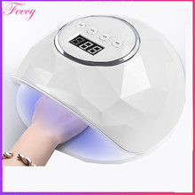 UV Lamp For Nails 86W 39Leds Ice Lamp Nail Dryer Sun X All For Nail Iacquer Gel Lamp SUNUV Lampa Led For Manicure Feecy F6(China)