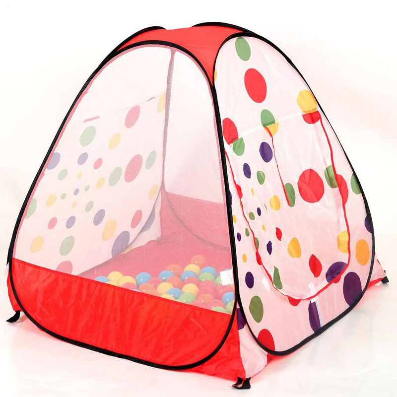 Cartoon Princess Animal World Dot Tent Sea Ball Pool Foldable For Kids Outdoor Indoor Toy