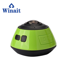 mini 360*220degree panorama WIFI camera 5mp1080p full HD action sports camera GV200H free shipping