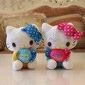 Caramelo gato muñecos de peluche pinza 7 pulgadas juguetes-gato muñeca venta al por mayor especial peluche juguetes de peluche