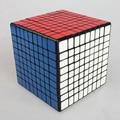 Nueva marca Shengshou 92mm Plástico Rompecabezas Velocidad 9x9x9 Cubo Mágico Juguetes Educativos Para Los Niños Embroma