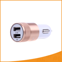 5V 2 1A Universal Dual USB Car Battery Charger Adapter Portable Auto USB Plug Boost Drive
