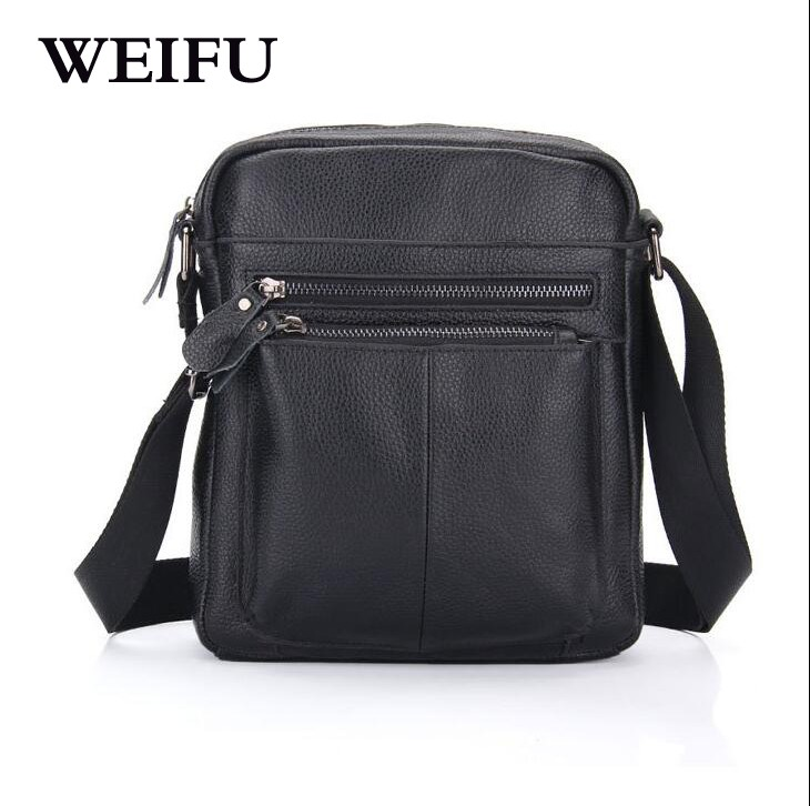 ФОТО Leather Men's bags Ipad Men Crossbody Bags Men messenger bag shoulder bag