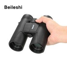 Beileshi Hunting Telescope 10X42 100M/1000M HD Outdoor Folding Binoculars Compact Profissional Binoculo
