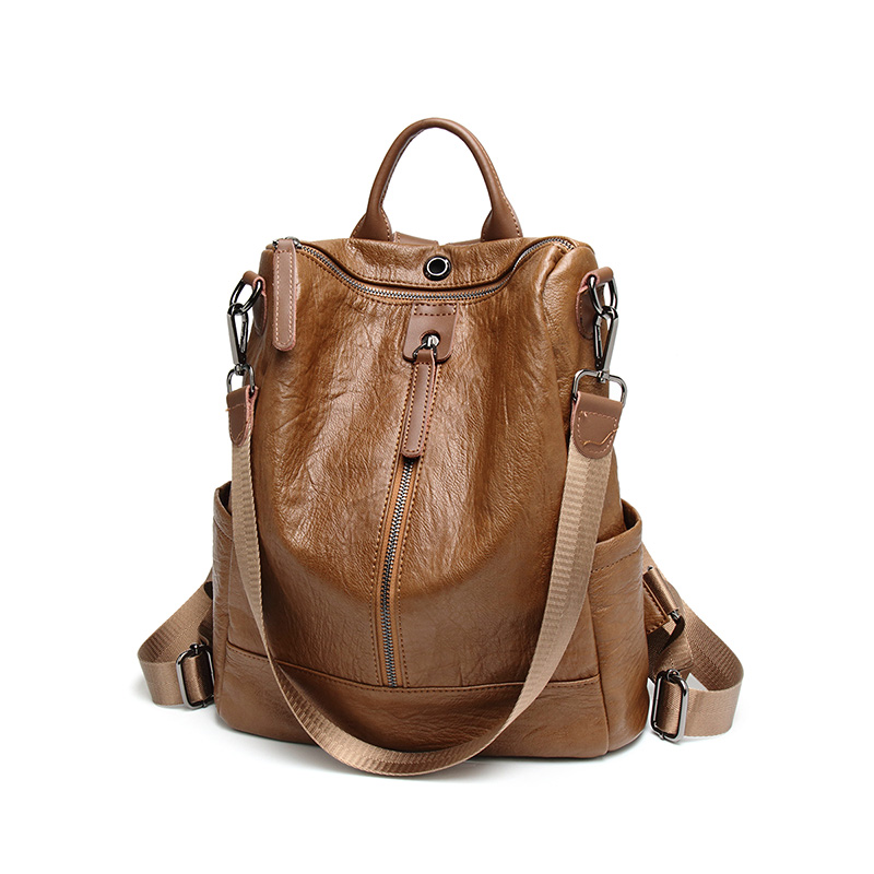 Korean Casual Backpack Women Genuine Cow Leather Bag High Quality Women Backpack Mochila Feminina School Bag For Teenagers C397 weave backpack women genuine leather bag women bag cow leather women backpack mochila feminina school bags for teenagers li 1390