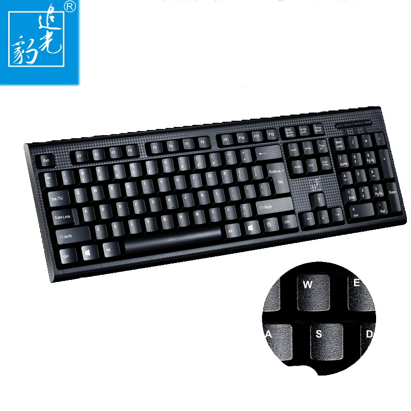 usb / ps2 single keyboard notebook wired computer office universal single keyboard interface USB / PS2 optional Q9