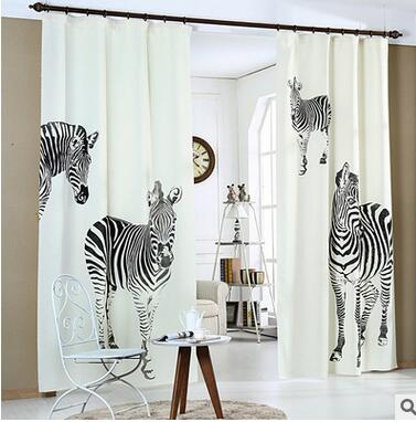 Europe Curtains 3D Printing High-grade Window Shade Blackout Curtains Sitting room/Living room/Bedroom Decoration
