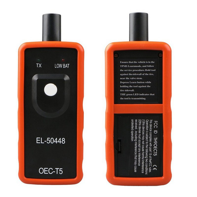 Car Tire Pressure Alarm Monitor System Sensor El 50448 TPMS GM / Opel Series Vehicles Reset Activation EL-50448 Programming Tool