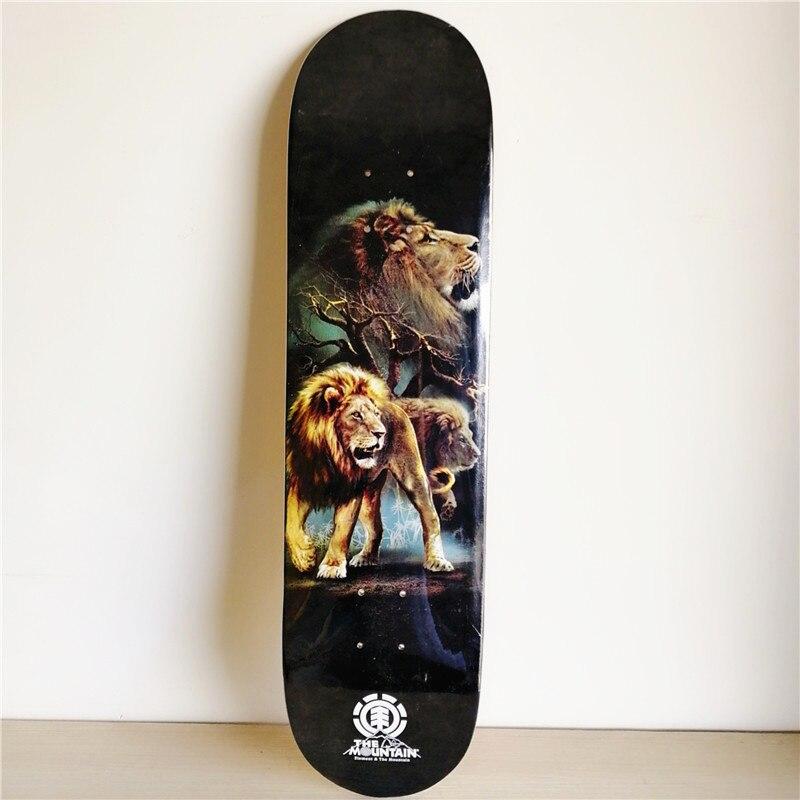 ÉLÉMENT PLAN B 1 PC Bascule Double deck pour skateboard Qualité Canadien planche de skate Planche À Roulettes Patines Patins