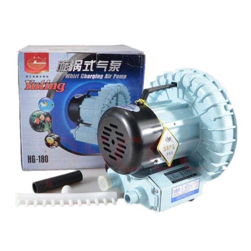 180W 300L/min Whirlpool inflatable pump High Pressure Oxygen Air Pump/ aquarium Air Compressor Air Blower / yuting jet Blower-in Air Pumps & Accessories from Home & Garden    1