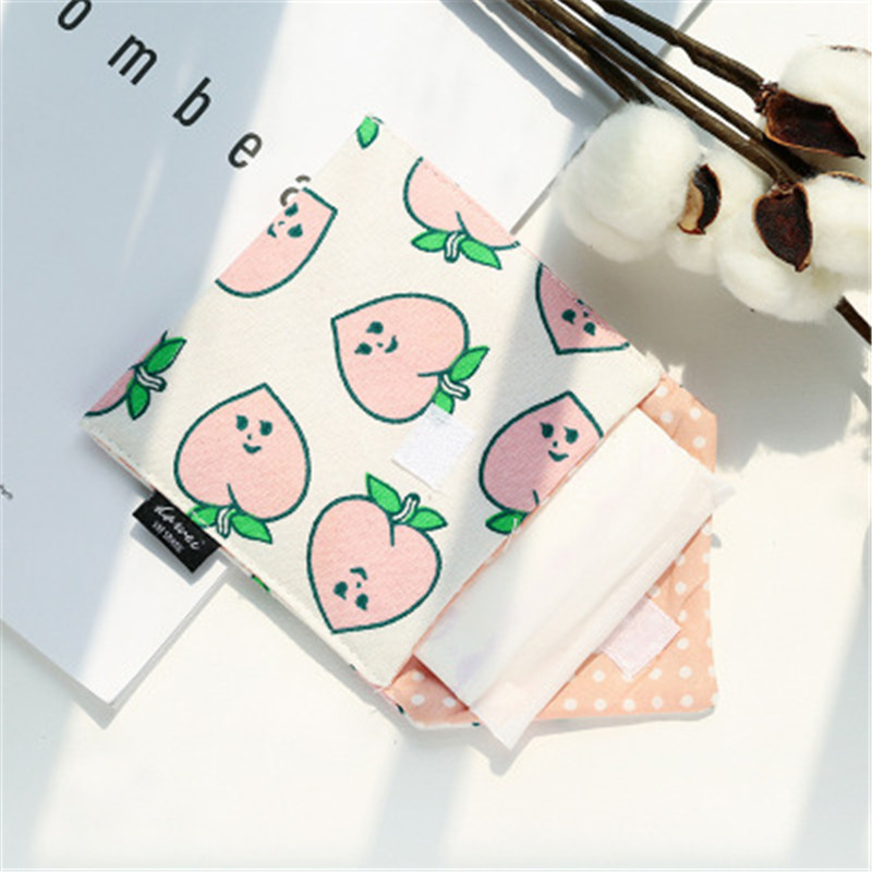 b4c9b9610e90 US $1.04 30% OFF Napkin Pad Cotton Small Make up Organizer Bags Tampon Bag  For Sanitary Cosmetic Bags Organizer Travel Pouch For Girls Women Hot-in ...