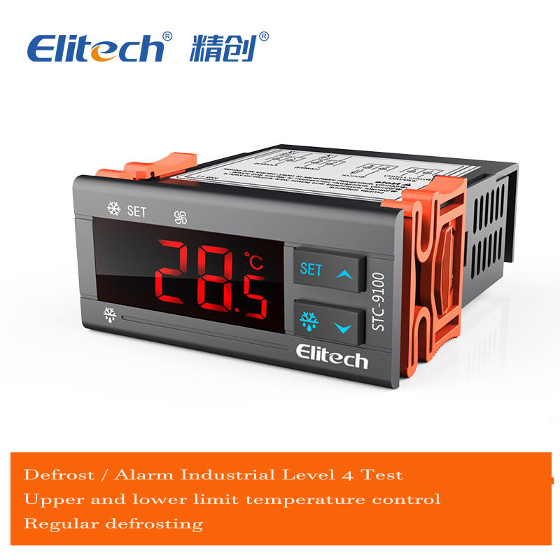 цена на STC-9100 Temperature Controller, Cooling / Defrost / Alarm / Digital Temperature Controller with 2 sensor refrigeration defrost