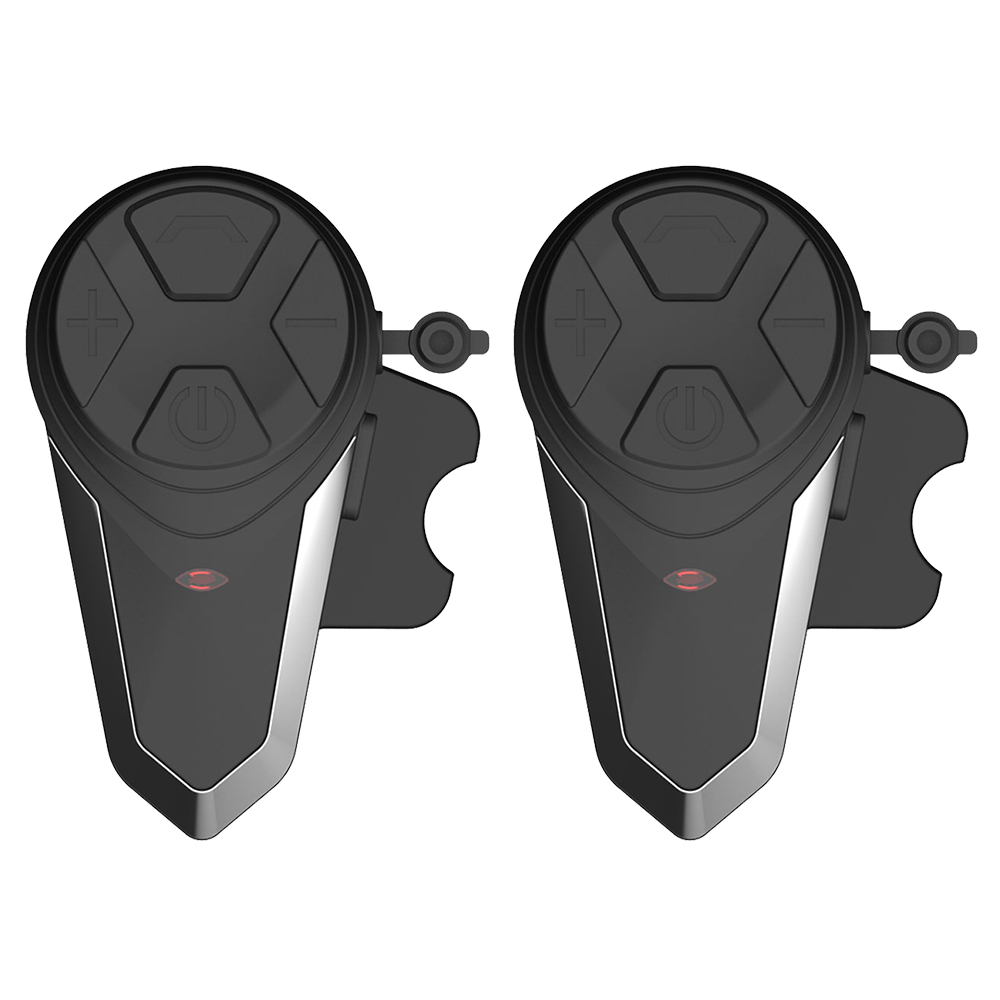 2 pcs BT-S3 Motorcycle Helmet Intercom Moto Wireless Helmet Bluetooth Headset Intercomunicador Waterproof 1000M BT Interphone FM 2pcs intercom built in fm radio motorcycle bluetooth helmet intercom 1000m wireless waterproof moto interphone headsets