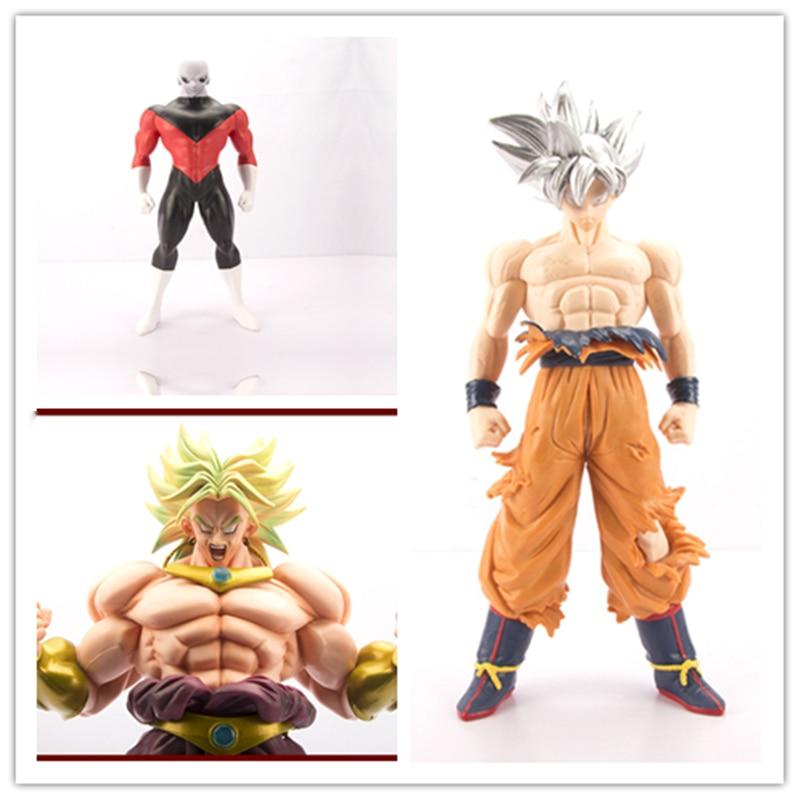 Figurine oversize Ultra Instinct fils Goku Jiren Broli PVC figurines Dragon Ball Z Collection modèle poupée Collection décoration