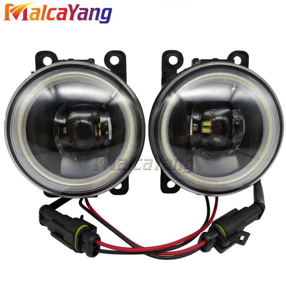 1set fog lights angel eyes for opel vectra c gts hatchback 2002-2008 car  light