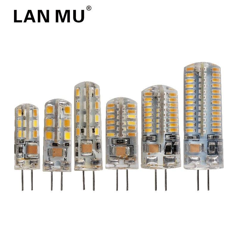 G4 LED Lamp 24 32 48 64 96leds Corn Bulb AC 220V SMD 2835 3014 Lampada LED light 360 degrees Replace Halogen Lamp g4 LED bulbs ...