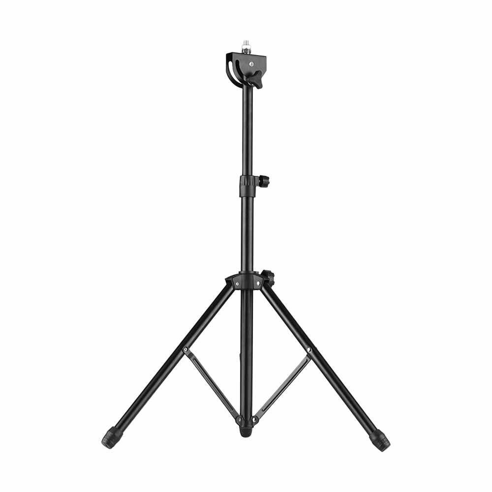 Almohadilla de tambor soporte de Metal 8mm conector de tornillo 46 cm-79 cm altura ajustable para 8-10 pulgadas almohadilla de práctica de tambor con bolsa de transporte