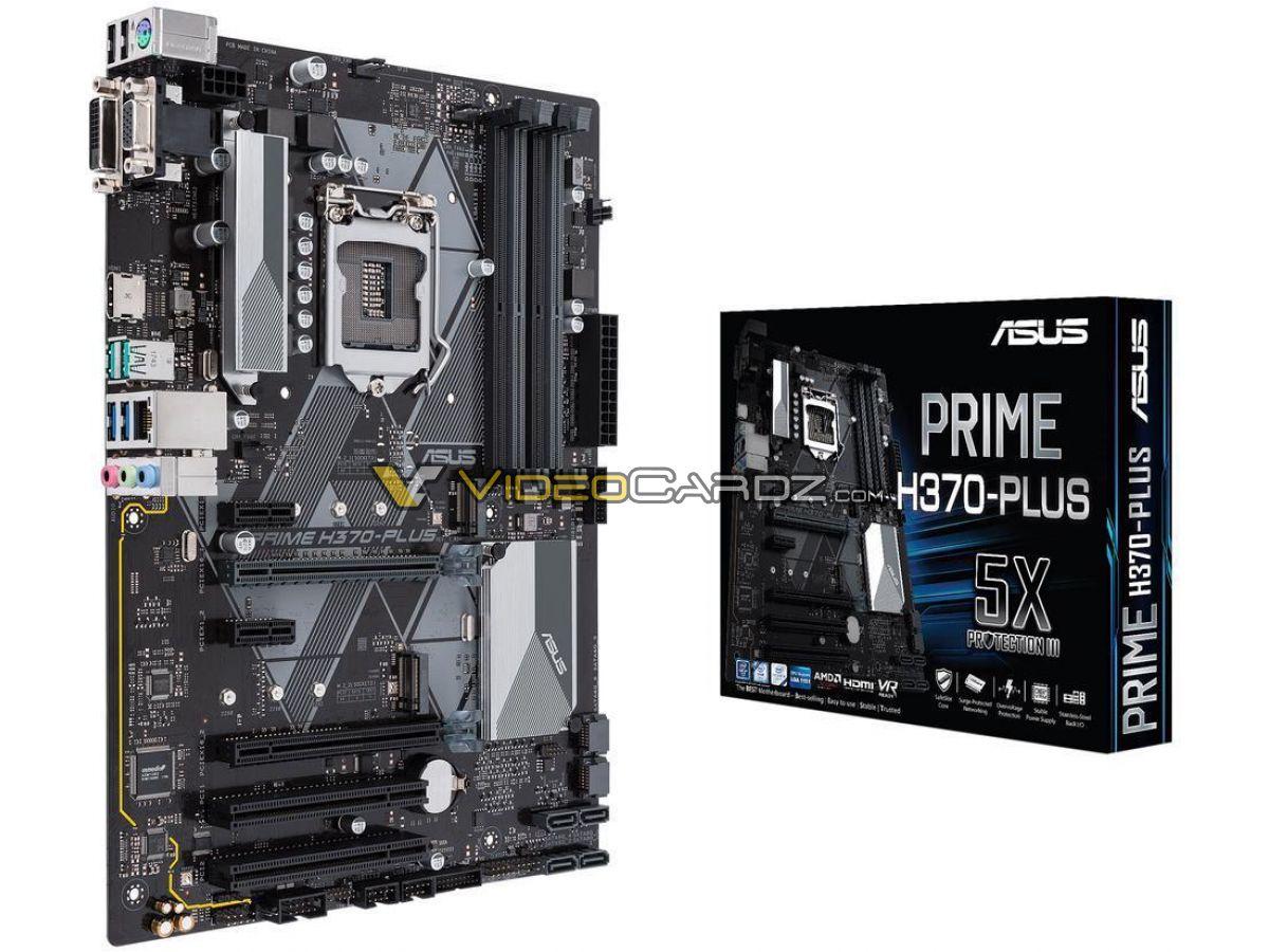 Asus PRIME H370-PLUS Motherboard Master Series (Intel H370/LGA 1151)