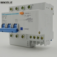 Dz47le Earth Leakage Mini Circuit Breaker DZ47LE 32 3P N C32
