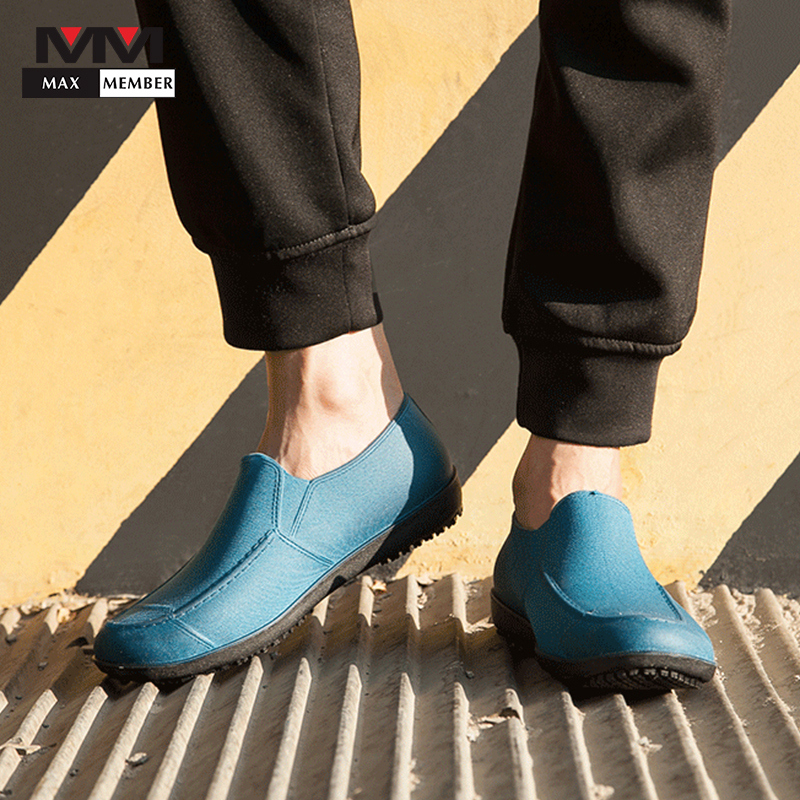 Men's Kitchen Hotel Coffee Shop Bakery Safety Non-slip Waterproof Shoes Restaurant Chef Waiter Cleaning Cooking Work Shoes