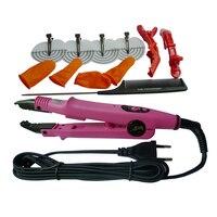 Adjustable Temperature Control Hair Wig Extension Connector Black Fusion Heat Connector