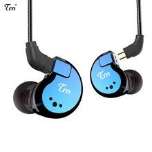 TRN V80 2BA + 2DD Hybrid Metal в ухо наушники Hi-Fi монитор DJ наушники для бега ушной гарнитуры съемный кабель AS10  T2  V30