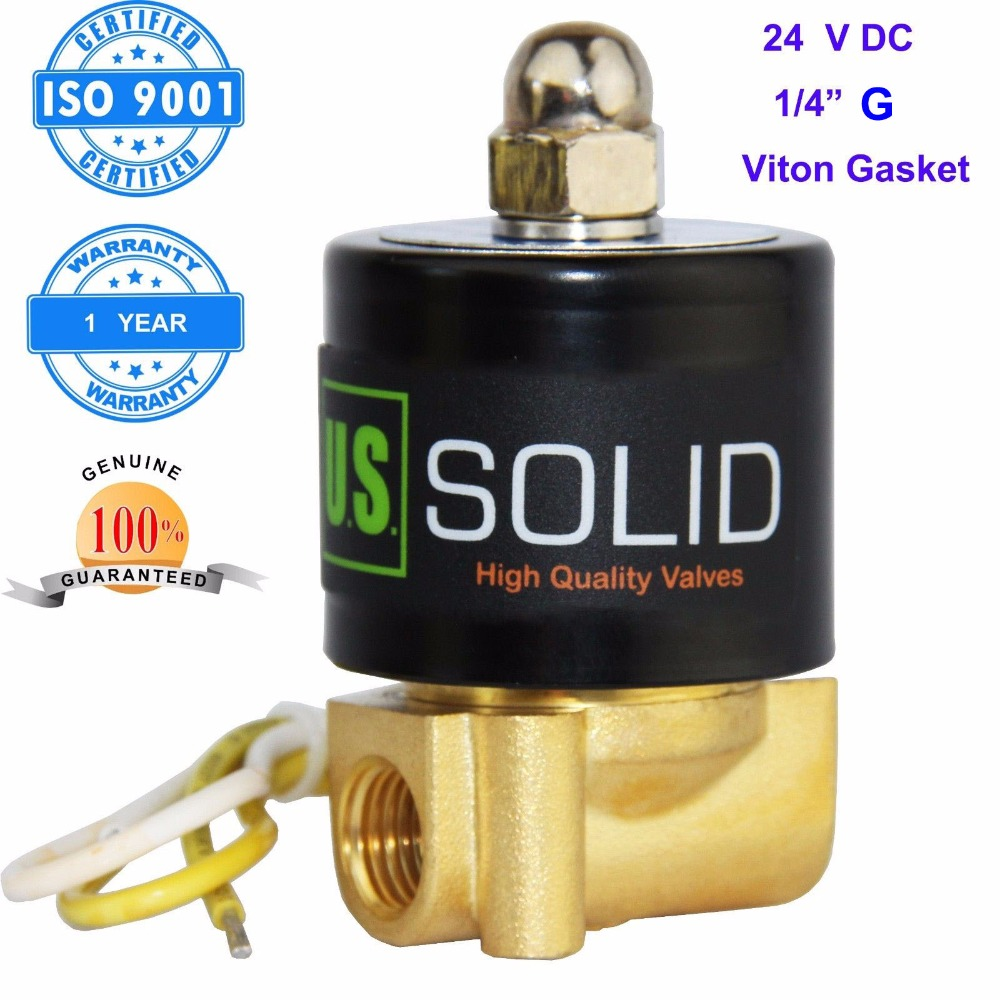 U.S. Solid 1/4 Brass Electric Solenoid Valve 24 V DC G Thread Normally Closed water, air, diesel... ISO Certified 36v lithium battery 500w 36v bottle battery 36v 12ah electric bike battery for samsung 3000mah cell with 15a bms 42v 2a charger