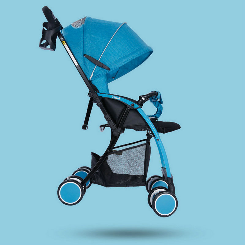 Light weight 5.8KG Baby Stroller, Aluminium alloy frame baby pram, two way push baby carriage multifunctional professional handle pulley roller gear outdoor rock climbing tyrolean traverse crossing weight carriage fit