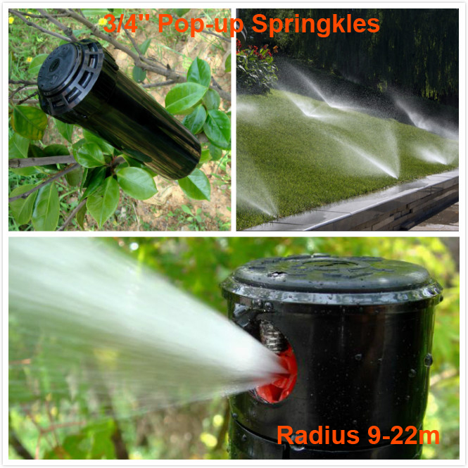 Radius 9 22m pop up sprinkler 3 4 female thread for - Gardeners supply company coupon code ...