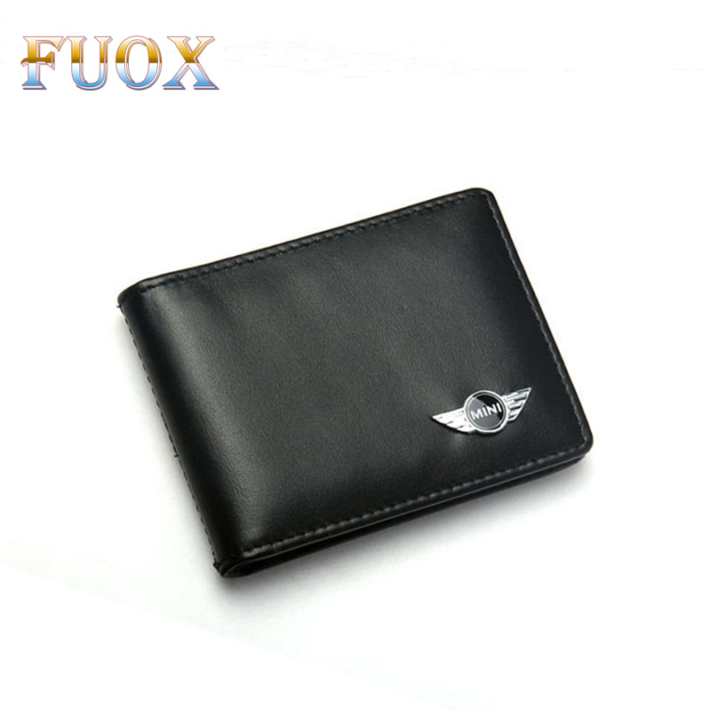 Car-Styling Car Driver Licence Credit Card Bag for BMW Mini Cooper 2011 2012 2013 R56 R50 R53 F56 F55 R60 R57 Car Accessories