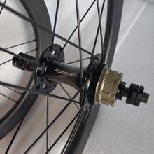 Сема T700 brompton 16 дюймов 349 оправы углерода с hubsmith керамический подшипник внешний 2 передач углерода колесная 900 г велосипед