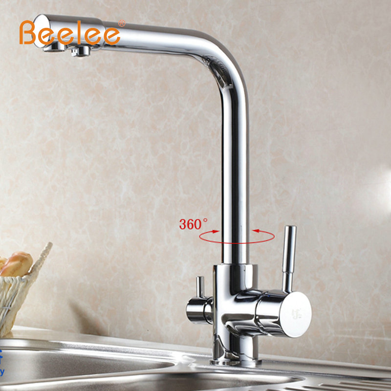 Beelee All Copper Hot And Cold Water Purifier Kitchen Water Faucet ...