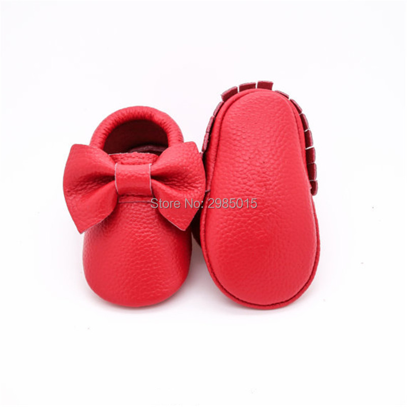 High Quality New 100% Genuine Leather Baby Shoes Baby Moccasins Soft Sole Newborn Shoes First Walkers Toddler Baby Moccasins