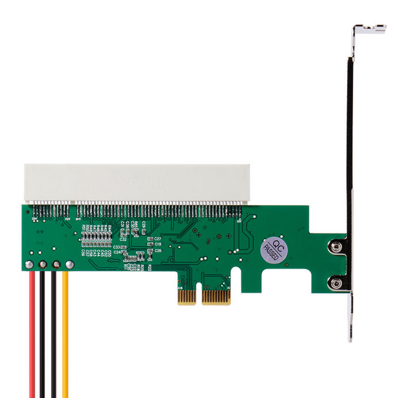 New PCI Express PCI-E to PCI Adapter Card Asmedia 1083 Chipset AC385 XXM pci e pci express to pci adapter card green white