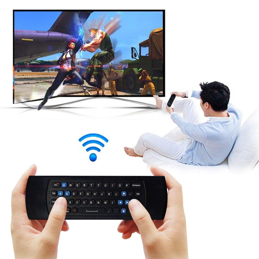 2.4G RF USB Wireless Mini Giroscopio Fly Air Ratón de control Remoto Teclado par