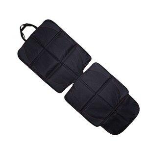 Image 5 - 123*48cm אוקספורד כותנה יוקרה עור רכב מושב מגן ילד תינוק אוטומטי מושב מגן מחצלת הגנה משופרת עבור מכונית מושב