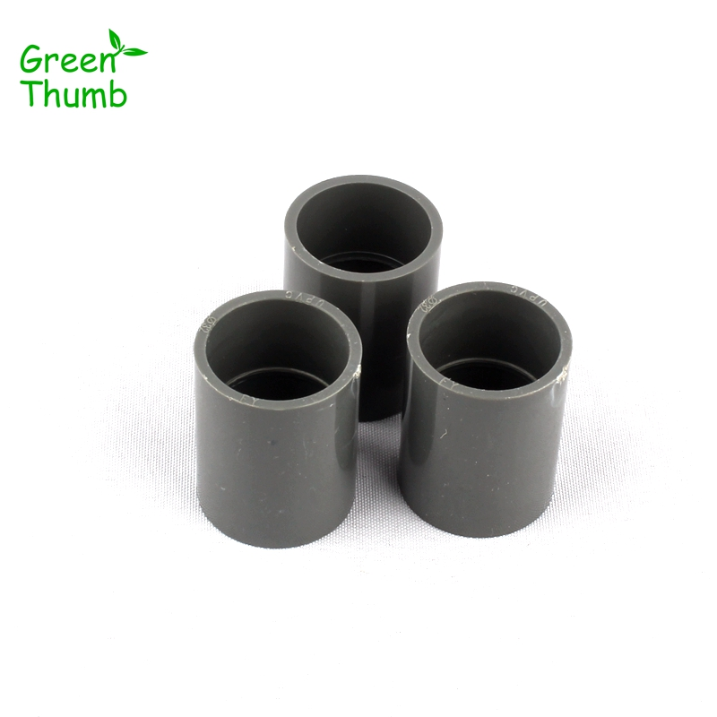 4pcs Dia 32mm PVC Straight Connectors for Horticultural Irrigation PVC Pipe Fittings High Quality PVC Coupling image