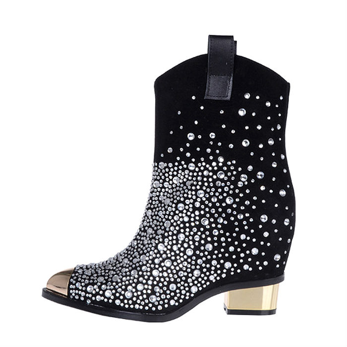 Wedge Shoe Boots Size