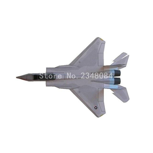 Avión de papel capaz de volar F 15 Aviones de Combate de la Fuerza ...